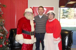 Wes Sights with Mr & Mrs Claus