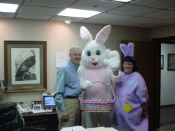 Celebrating Easter at our old location!