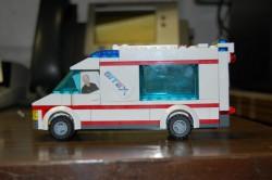 Jasper Branch Delivery Truck Lego Replica