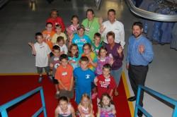 Elementary School plant tour
