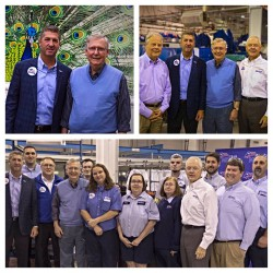 SITEX hosted Senator Mitch McConnell and Congressman Ed Whitfield