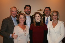 Sights Family in 2008 SITEX Banquet