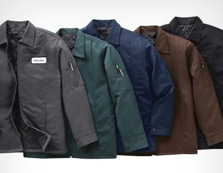 uniform work apparel rental for fall by Braun Linen